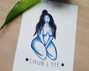 Chub Lyfe Gilcee Print| Body Positive