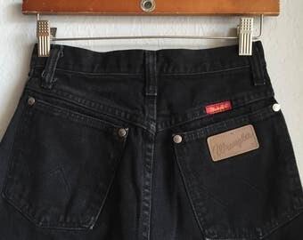 Vintage Wrangler High Waisted Jeans Sz 3