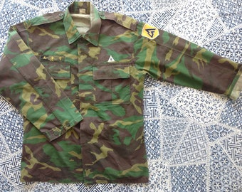 South korean camouflage military jacket