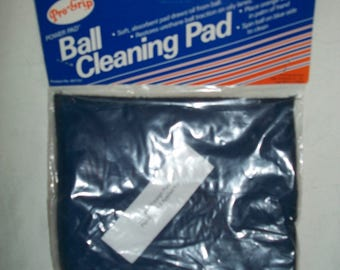 Vintage Bowling Ball Cleaning Pad
