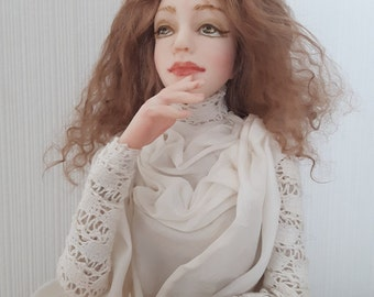 Art doll Angel characteristic doll interior doll collection doll