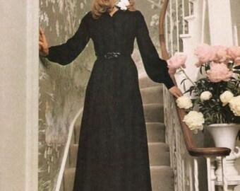 1969 Vintage VOGUE Sewing Pattern DRESS B38 (1754) Vogue 7630