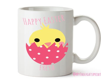 Easter gift for kids, Personalised Easter, Personalized Easter mug, Easter gift, Easter, Happy Easter, Easter mug, Easter gift for her, Mug