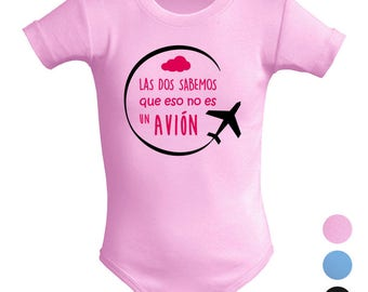 Unisex baby body is not an airplane. Parody. Original gift. Fun baby body. Short sleeve.