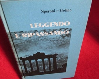 Leggendo E Ripassando by Charles Speroni and Carlo Golino