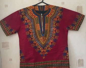 Dashiki print shirt