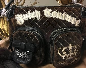 Velour Juicy Couture Bag
