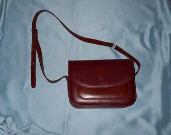 Authentic Cartier bag ! Genuine leather ! Vintage !