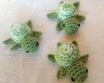 Sea Turtle, Turtle Stuffed Animal, Turtle Amigurumi, Crochet Sea Turtle, Turtle Toy, Turtle, Crochet Turtle, Mini Sea Turtle, Sea Turtle Toy
