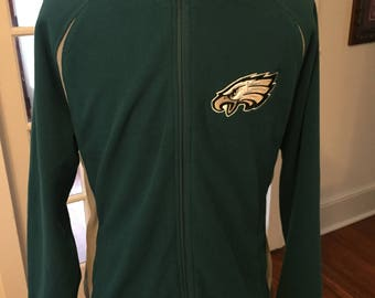 NFL Philadelphia Eagles Zipper Sweatshirt Jacket