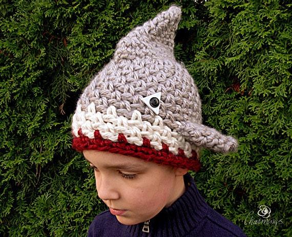 The Shark Skull Cap, Shark Crochet Hat, Boy's Shark Hat, Dress Up Shark, Animal Hat, Shark Ski Hat