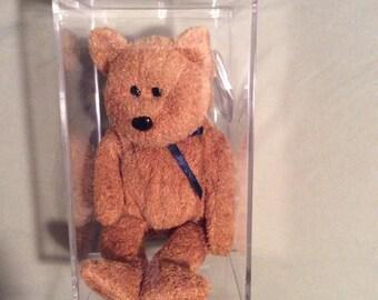 Beanie Babies - Fuzz the Bear - 7th Generation