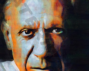 Pablo Picasso Art Print - Artist Oil Painting Poster  LFF0143