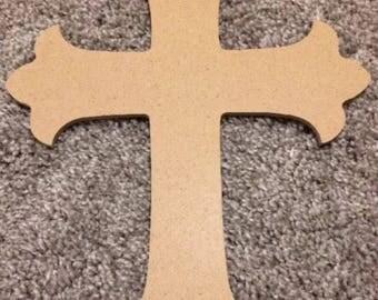 Wooden cross New Unfinished  Wood Cross