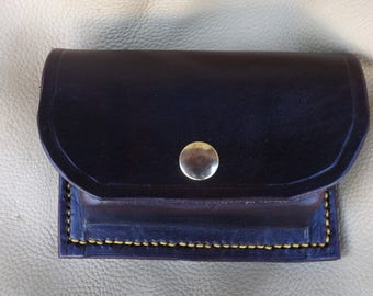 Molded Leather Belt Pouch