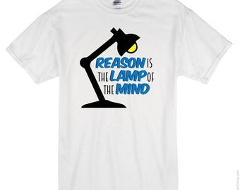 Reason Is The Lamp Of The MIND - SVG File