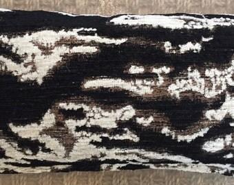 Small abstract animal print pillows 7x14