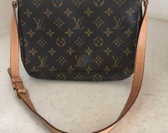 Weekend Sale! 10% OFF! Authentic Louis Vuitton Monogram Musette Tango Shoulder Bag