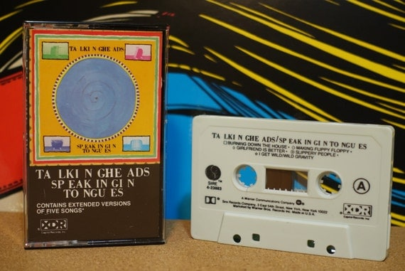 Speaking In Tongues by Talking Heads Vintage Cassette Tape