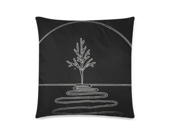"Throw Pillow Cover 20""x 20"" (Twin Sides) +2 other sizes -MHS Logo- FREE Shipping"