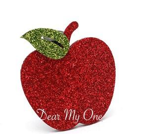 Apple Hair Clip, Big Apple Hair Pin, Apple, Apple Accessories, Fruit Hair Clip, Fruit Hair Pin,  Fruit Accessories, Summer Accessories