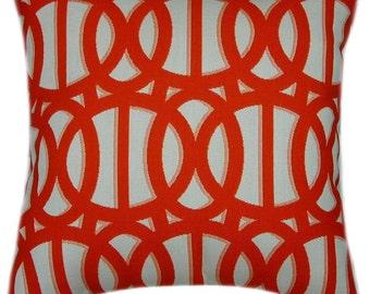 Sunbrella Reflex Flame Indoor/Outdoor Pillow, Sunbrella Pillows, Decorative Pillow