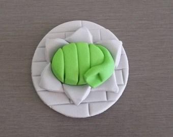 6 x Hulk Cupcake Toppers