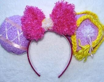 Mickey Mouse Headband Minnie Mouse Ears Disney princess Rapunzel Inspired Headband