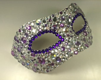 Diamanté Masquerade Mask