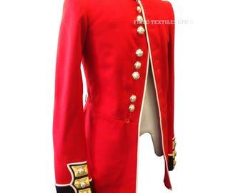 Scots Guards Sergeant Mans Red Tunic - Ceremonial Bandsman Uniform - Footguards - E241