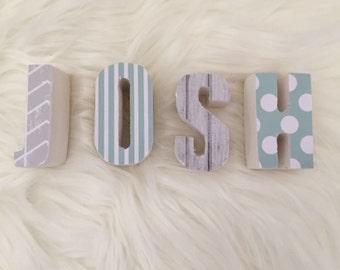 Personalized Name / Custom Pattern Names / Nursery Decor / Kids Room Decor