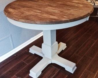 Farmhouse Kitchen Island Or Counter Height Table Legs Single Leg