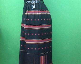 70s Tailored suit | Long dress | Vintage dress | Tailored long dress | Made in Italy vintage dress | 70s Sartorial dress