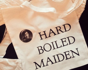 Hard Boiled Maiden Tote Bag | Classic Hollywood | Woman's Pictures | Barbara Stanwyck