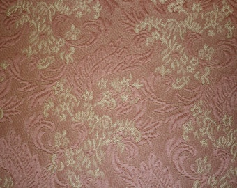 Pink Damask Fabric sold by the yard