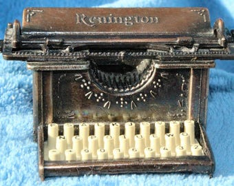 Vintage Copper Remington Typewriter Pencil Sharpener