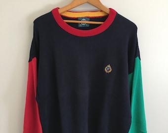 Vintage Jantzen Color Block Sweater