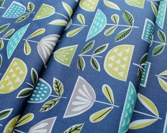 Mod Blooms Fabric