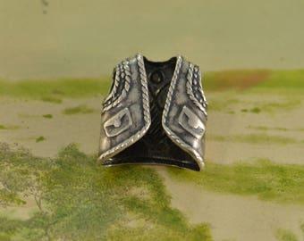 Matador Charm / Pendant Sterling Silver 2g