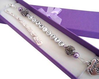 Personalised Handmade Bookmark with Gift Box