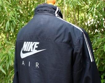 Retro Nike Air Black Jacket - Size Small
