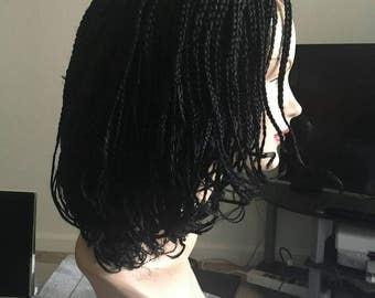 Handmade bob box braid