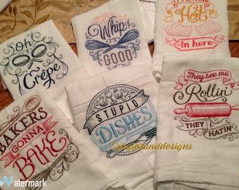 Kitchen flour sack towels