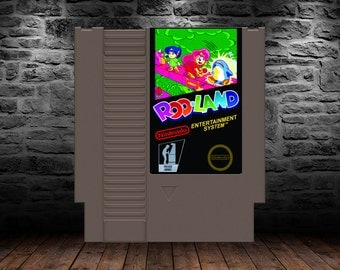 Rodland - Unreleased - Battle Monsters like never before with your magic wand - NES