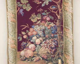 Vintage French Beautiful  Tapestry (236)