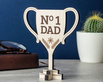 Personalised Trophy Keepsake Card