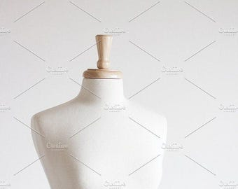 Styled Stock Photo | White Mannequin (Tall) | Blog stock photo, stock image, stock photography, blog photography