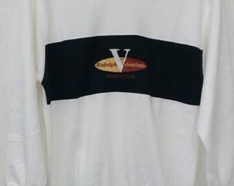 Rare Rudolph Valentino sweatshirts M size