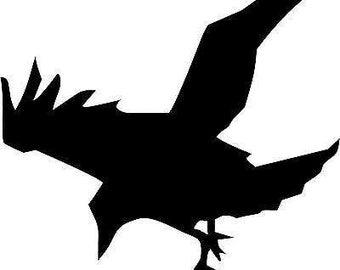 Crow Raven - Sticker/ Vinyl / Decal