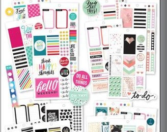 Classic Color Story Sticker Value Pack - MAMBI Happy Planner Stickers